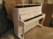 Покраска пианино