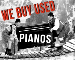 Выкуп немецких чешских роялей в Туле